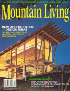 in the press interior design wyoming Mountain Living