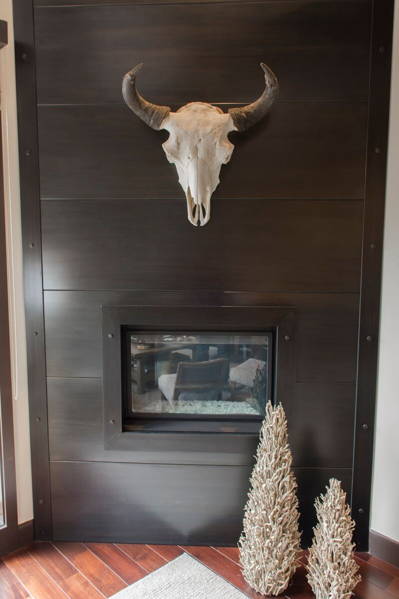 perfectly placed, interior design wyoming, skull